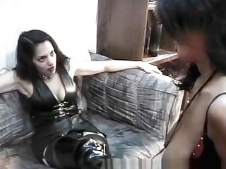 Two Lusty Black Harlots Have Some Insane Girl/girl Bedroom Joy