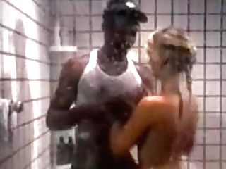 Silver Forrest Fucks Black Tramp In The Douche