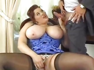 Brit Kirsten Harg Double Penetration Rectal Stockings Compilation